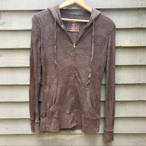 Maurices Paisley Hoodie